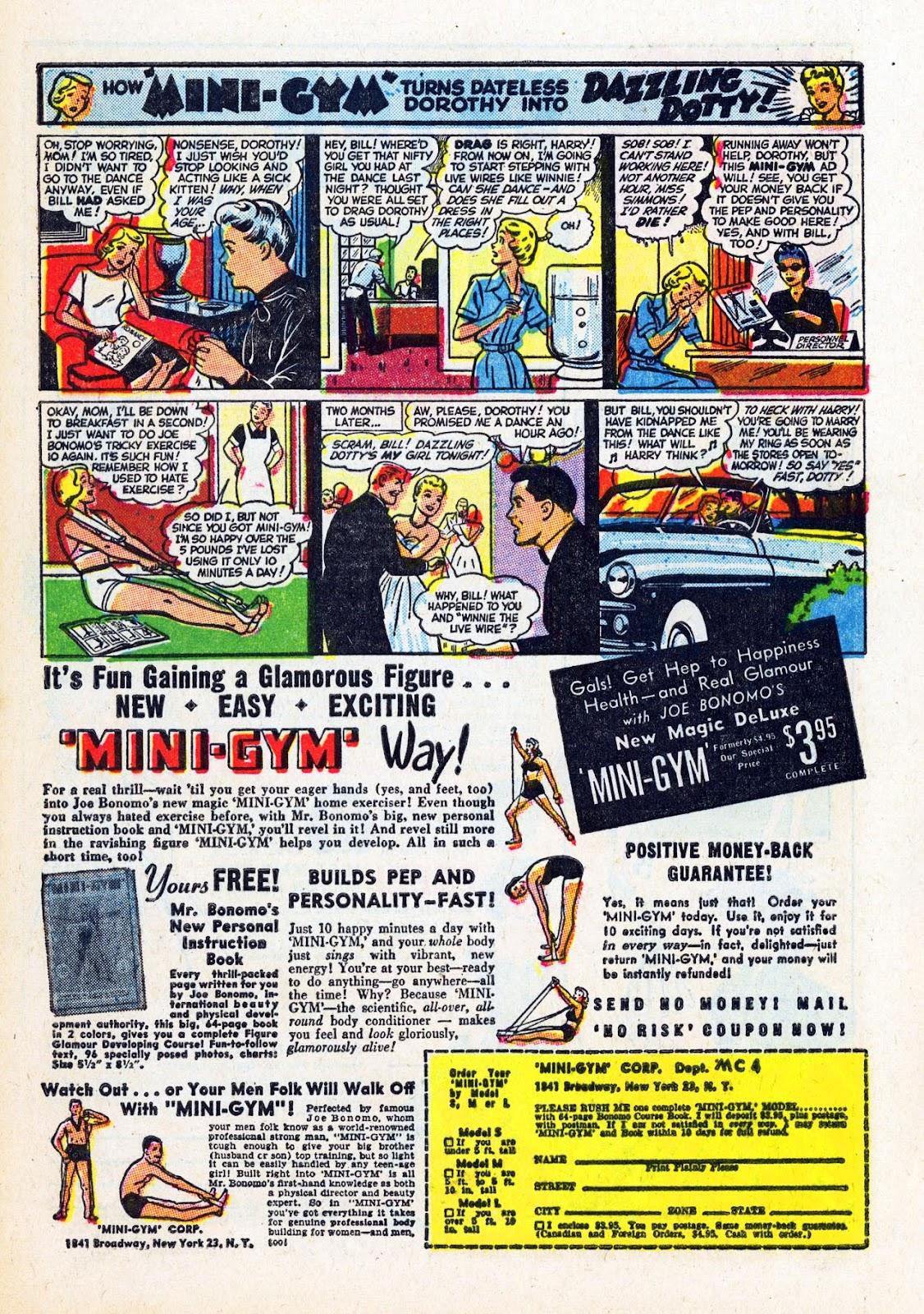Read online Patsy Walker comic -  Issue #58 - 33