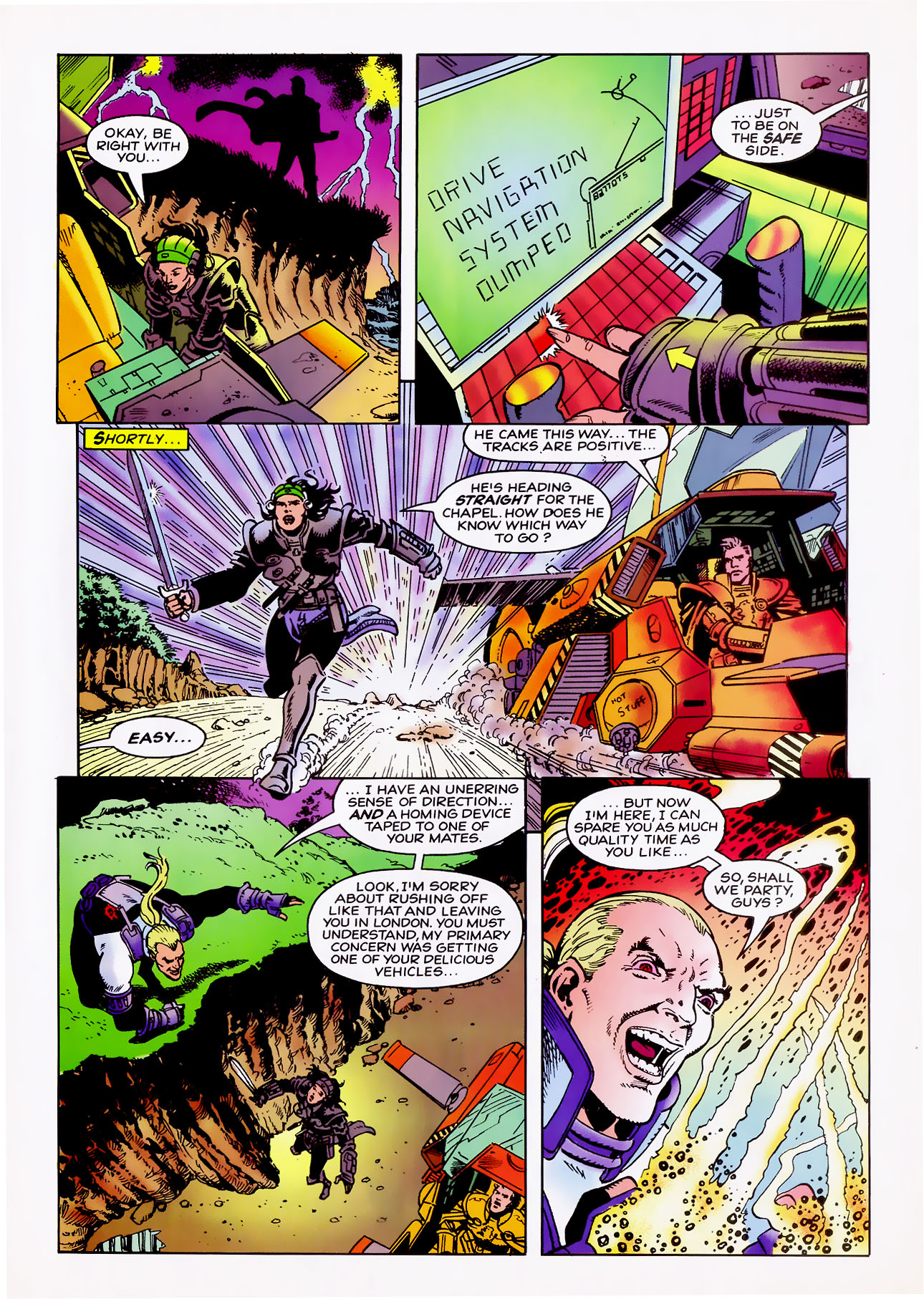 Read online Overkill comic -  Issue #11 - 15