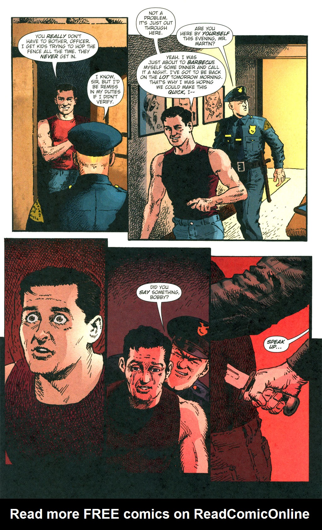 Read online Caper comic -  Issue #7 - 21