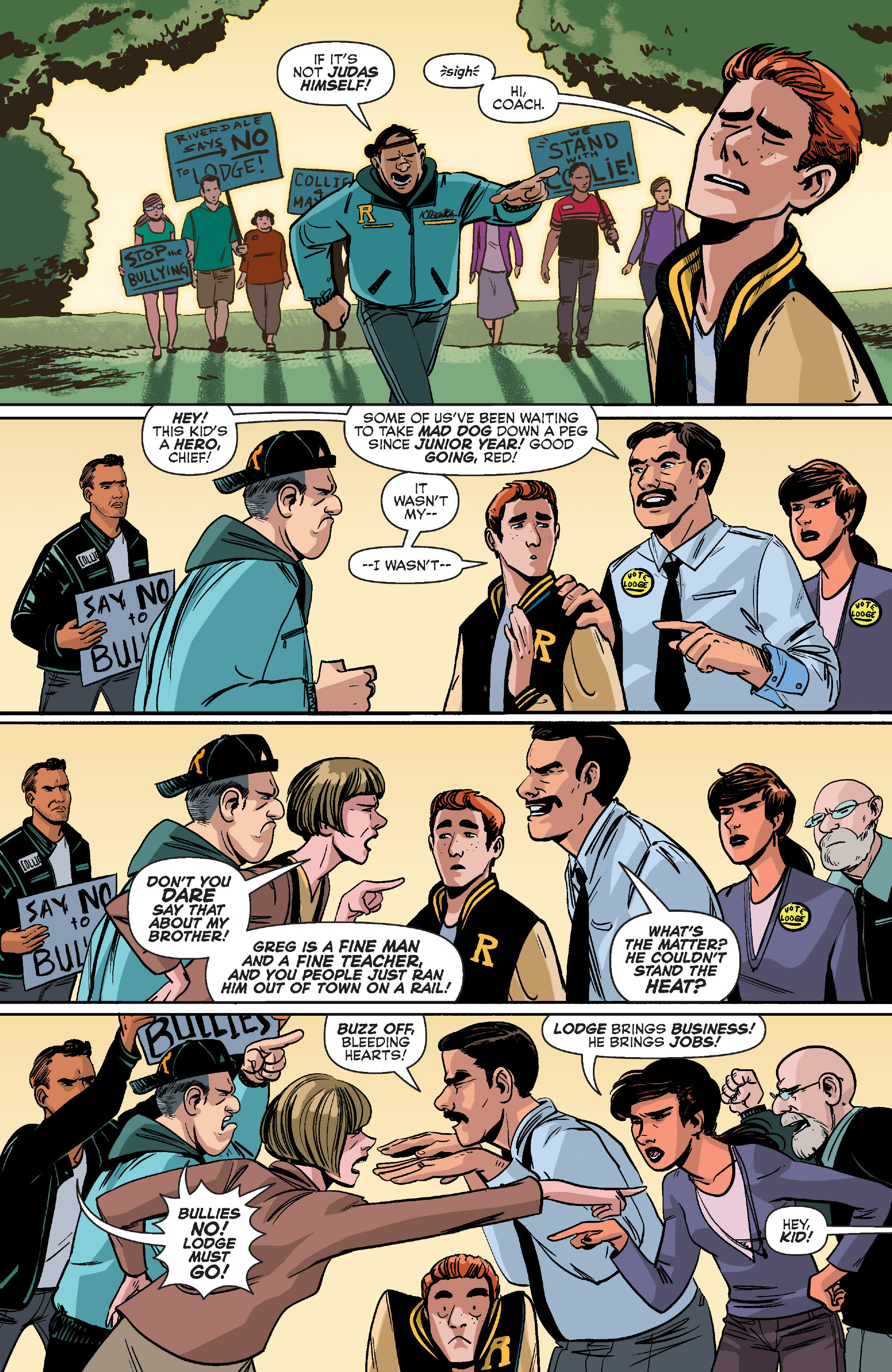 Read online Archie (2015) comic -  Issue #10 - 21