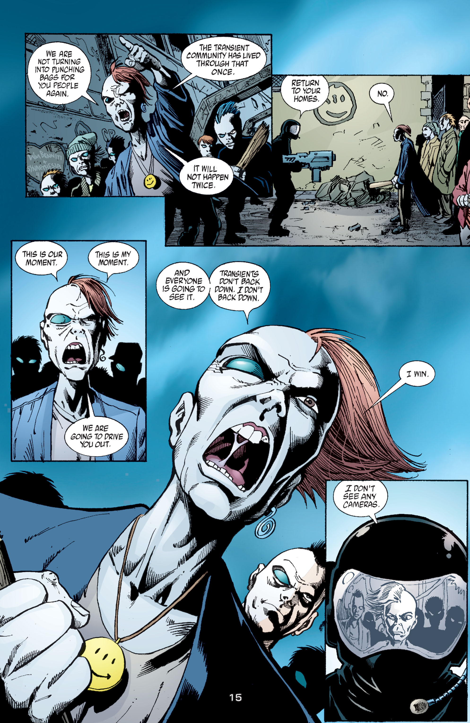 Read online Transmetropolitan comic -  Issue #58 - 16