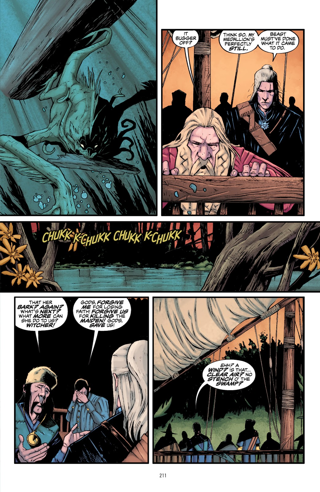 Read online The Witcher Omnibus comic -  Issue # TPB (Part 3) - 14
