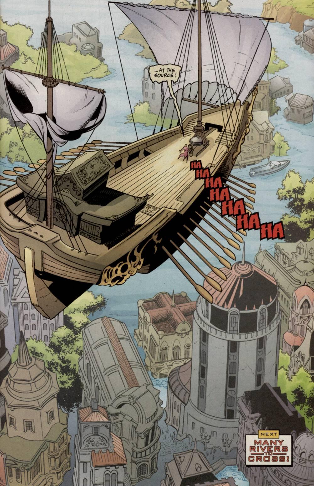 Read online Aquaman (2003) comic -  Issue #5 - 24