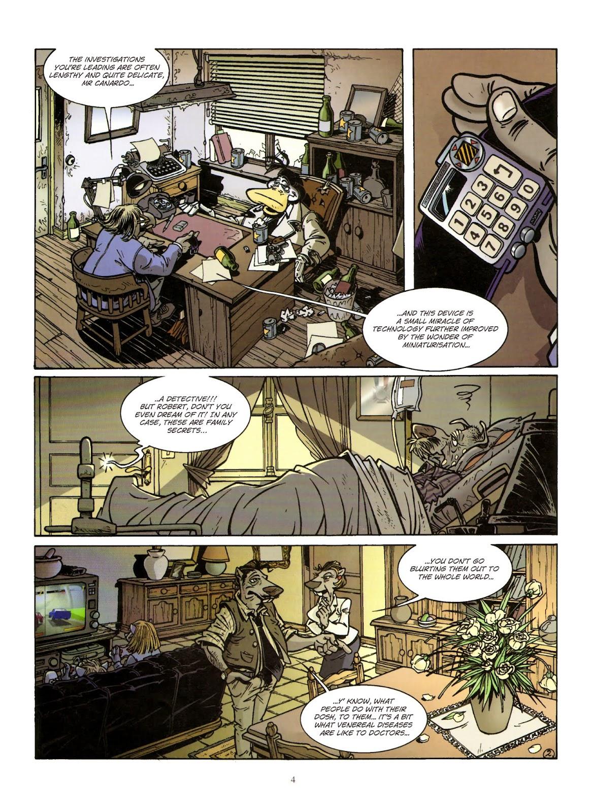 Une enquête de l'inspecteur Canardo issue 11 - Page 5
