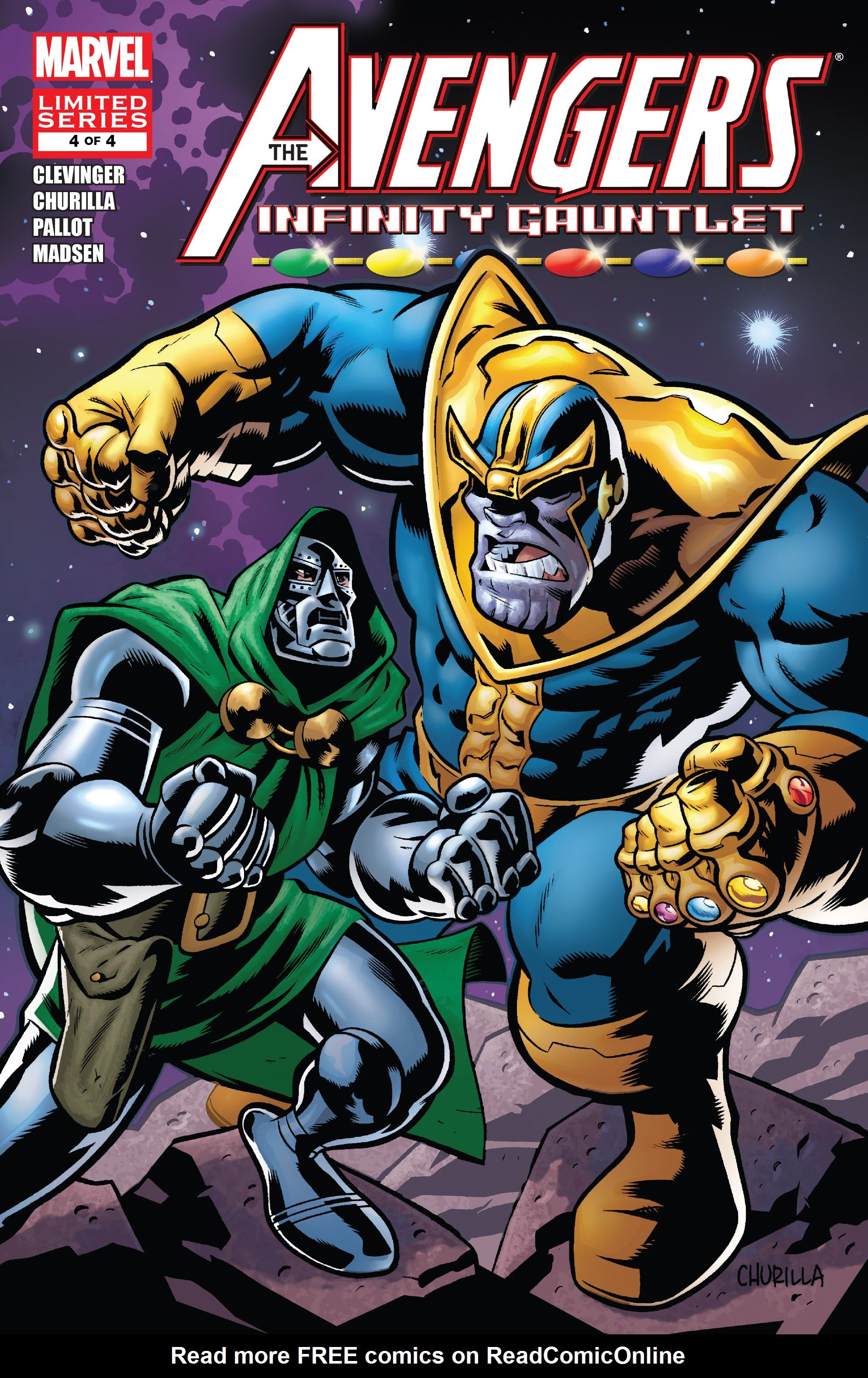 Avengers & the Infinity Gauntlet 4 Page 1