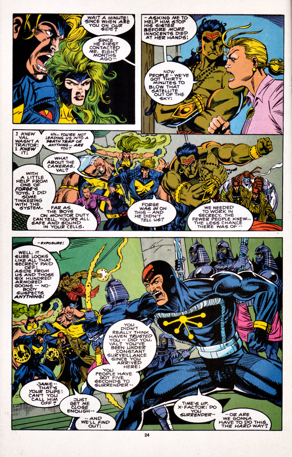 Read online X-Factor (1986) comic -  Issue #100 - 20