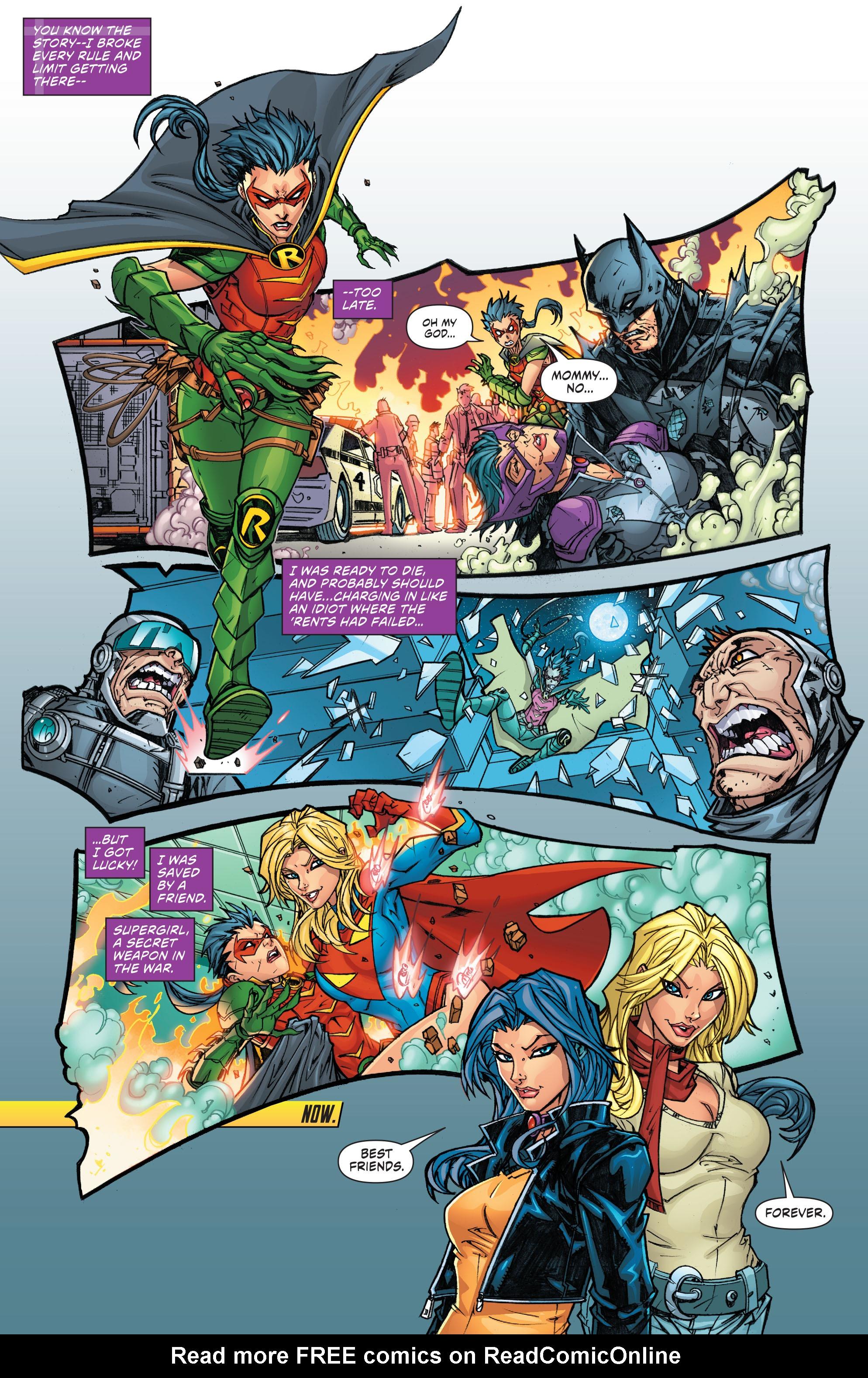 Read online Secret Origins (2014) comic -  Issue #7 - 21