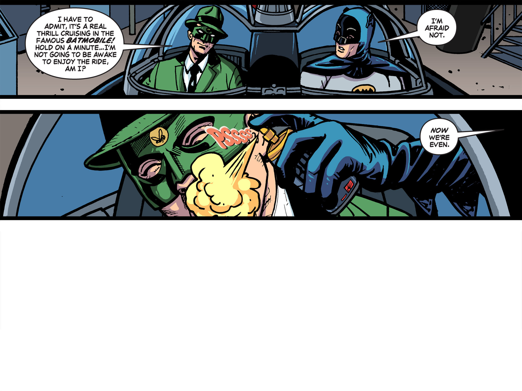 Read online Batman '66 Meets the Green Hornet [II] comic -  Issue #5 - 77