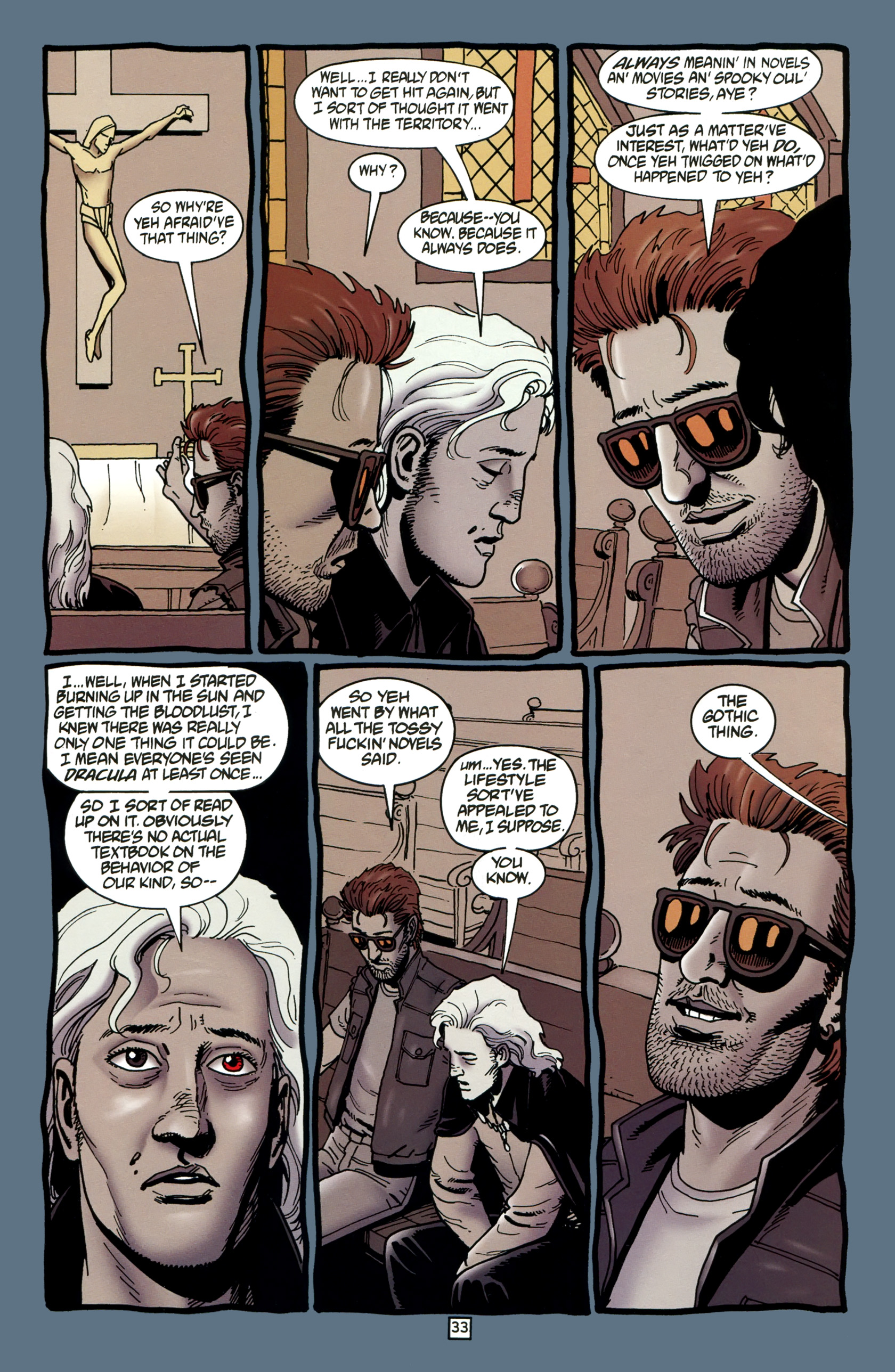 Read online Preacher Special: Cassidy : Blood and Whiskey comic -  Issue # Full - 35