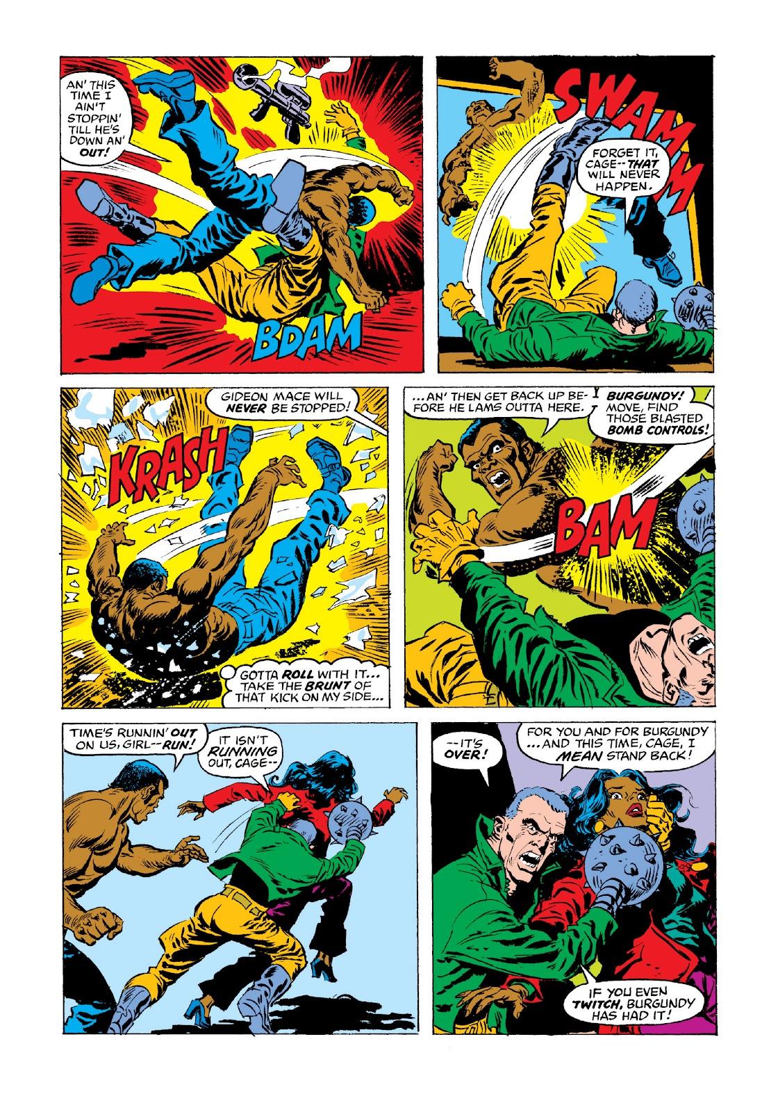 Read online Marvel Masterworks: Luke Cage, Power Man comic -  Issue # TPB 3 (Part 3) - 78
