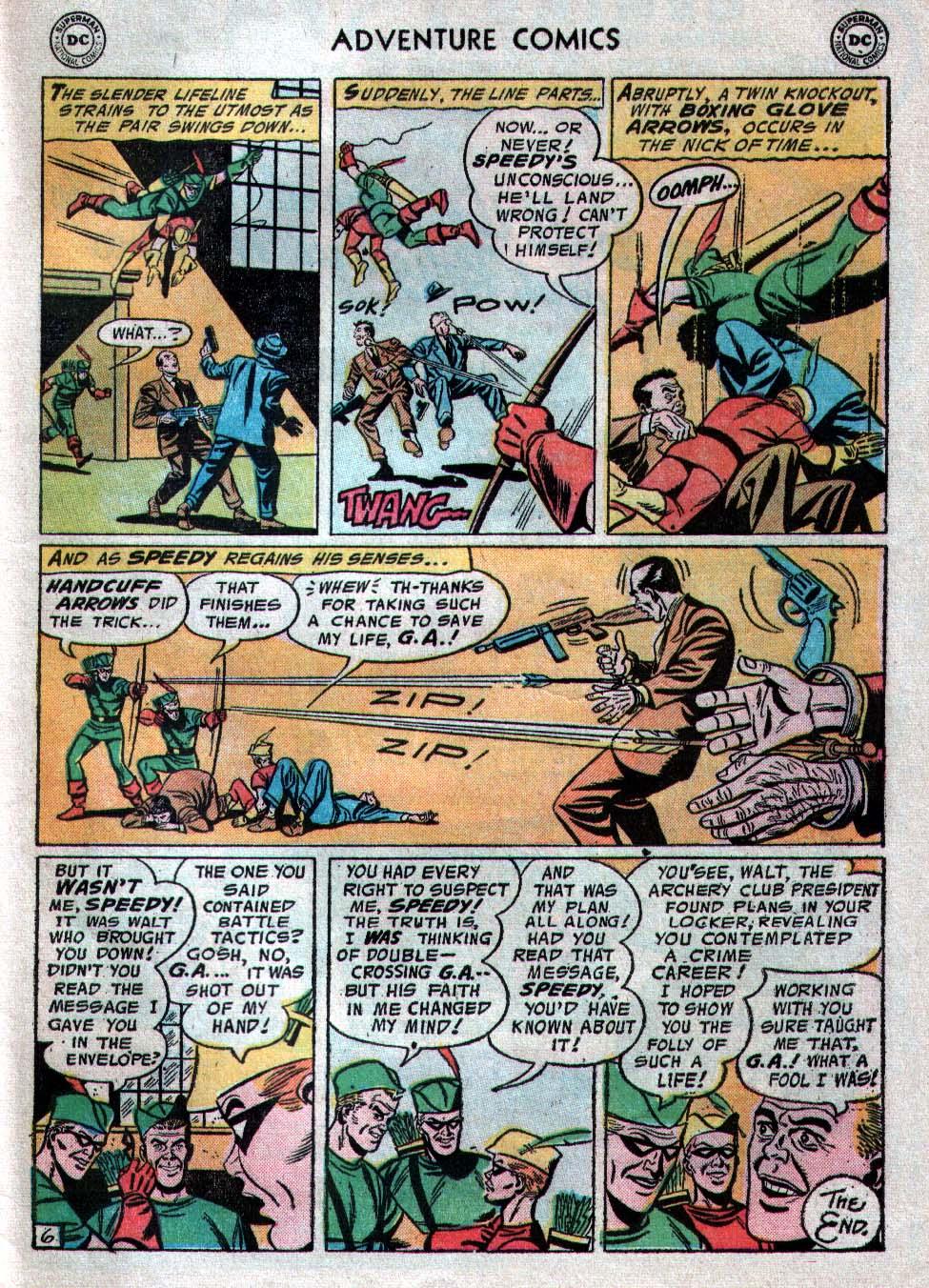 Read online Adventure Comics (1938) comic -  Issue #223 - 33