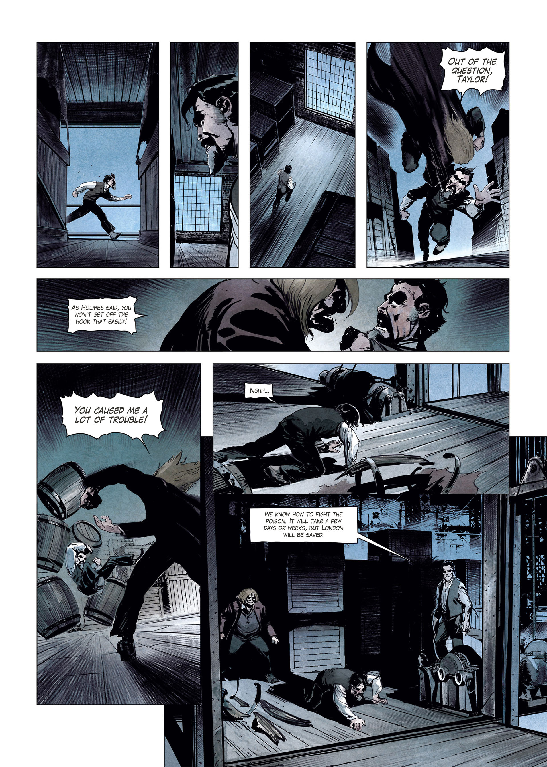 Read online Sherlock Holmes Society Tome 4 : Contamination comic -  Issue # Full - 44