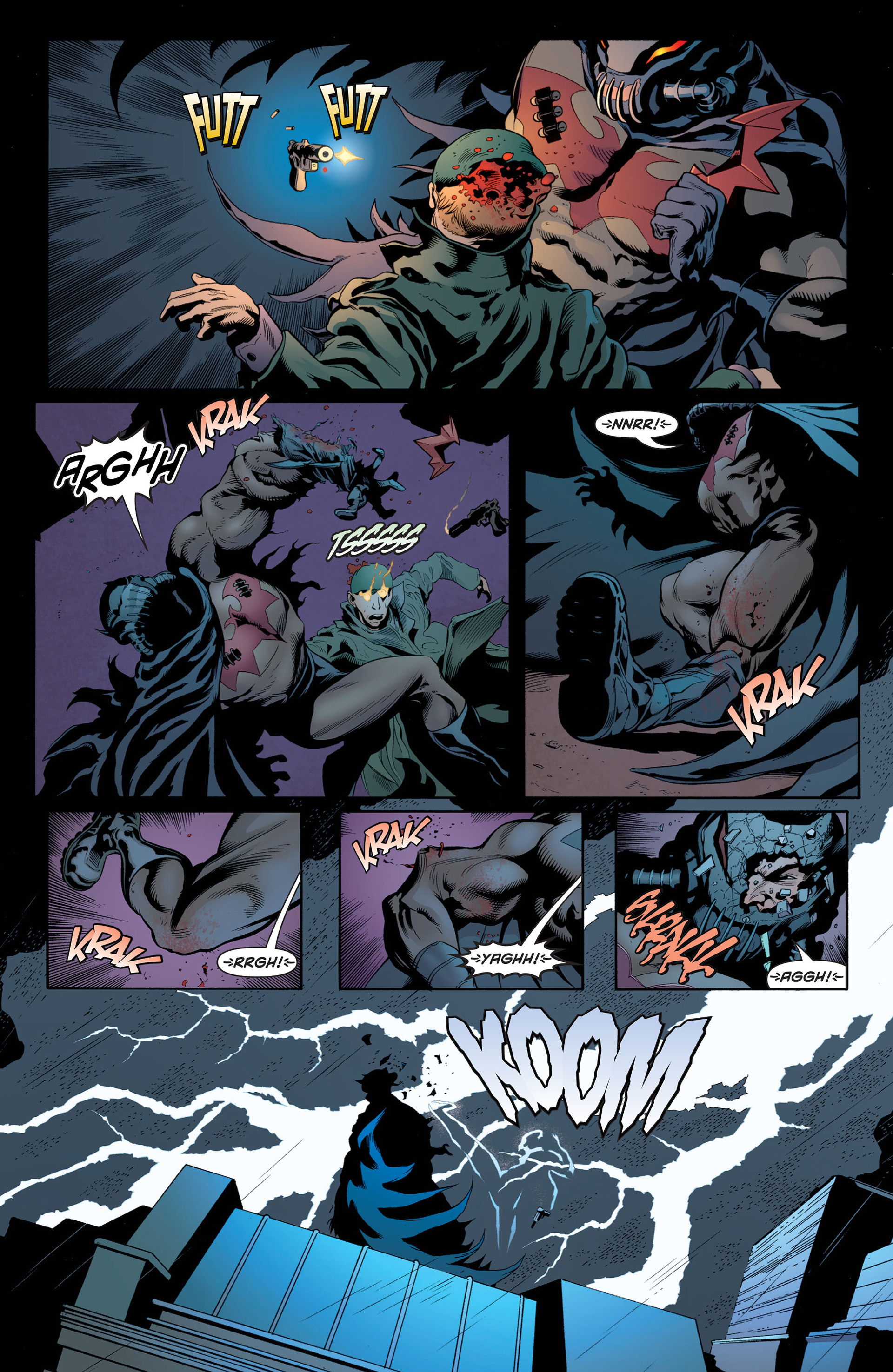 Read online Batman and Robin (2011) comic -  Issue #1 - 4