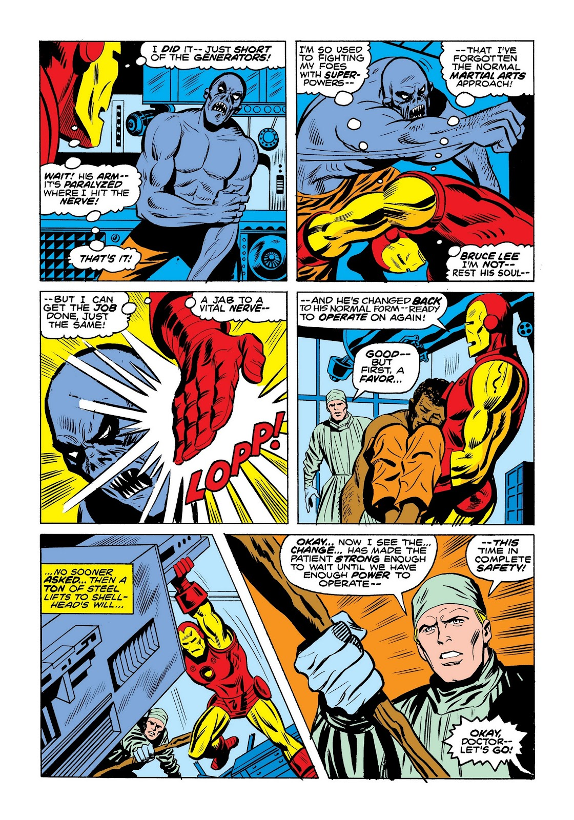 Read online Marvel Masterworks: The Invincible Iron Man comic -  Issue # TPB 9 (Part 3) - 89