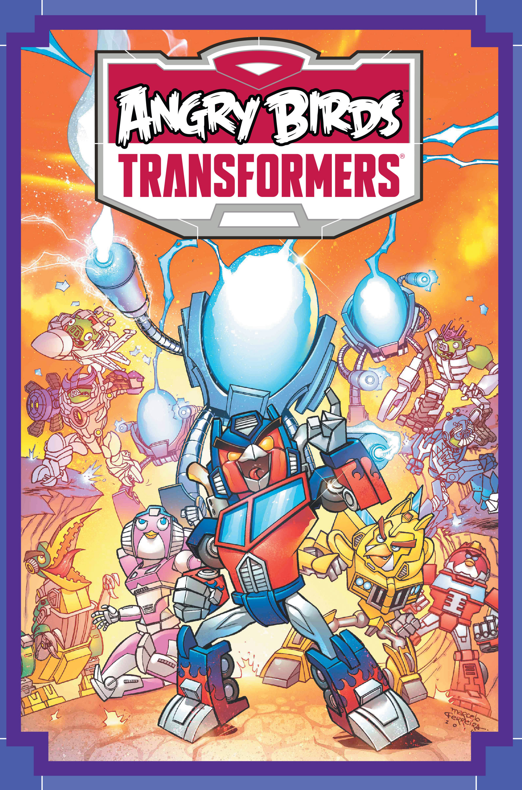 Read online Angry Birds Transformers: Age of Eggstinction comic -  Issue # Full - 1