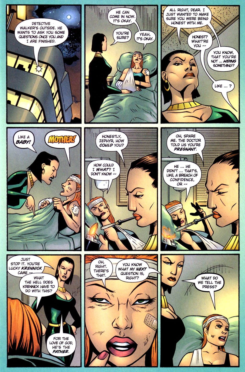 Read online Noble Causes (2002) comic -  Issue #4 - 7