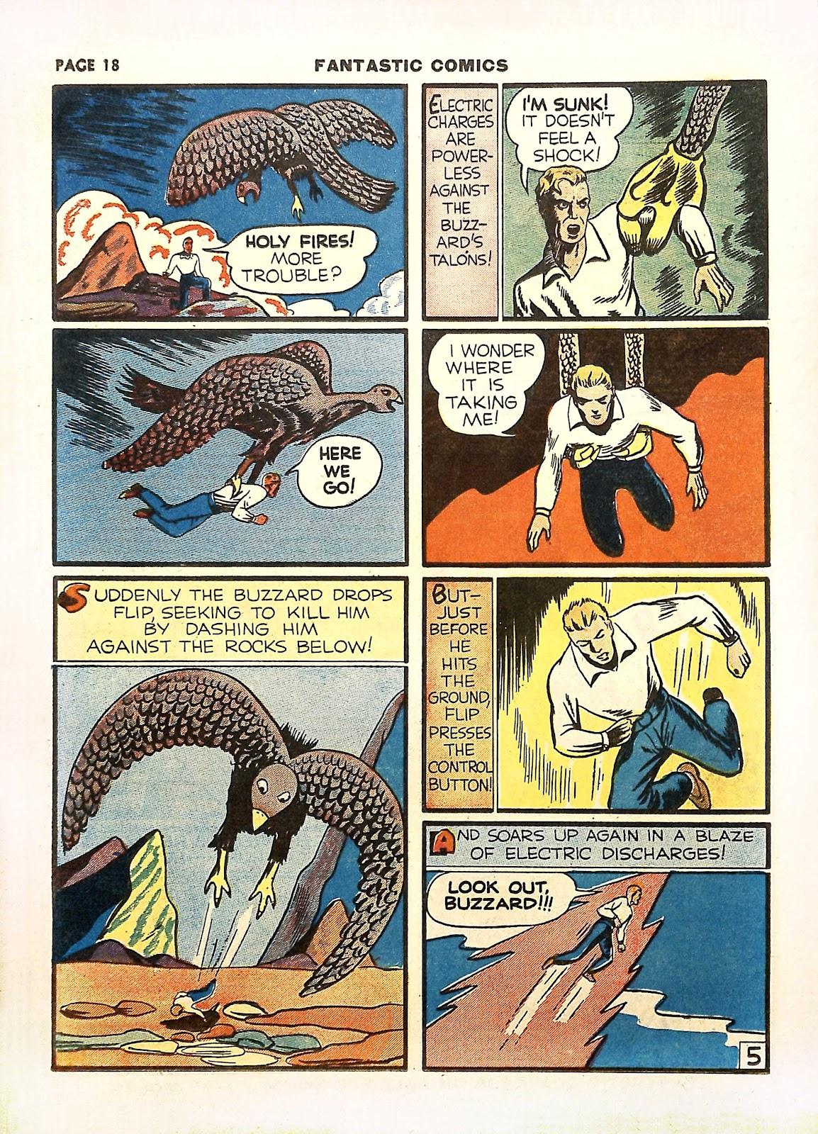 Read online Fantastic Comics comic -  Issue #11 - 21