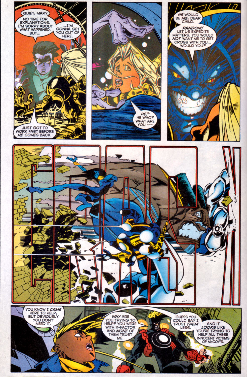 Read online X-Factor (1986) comic -  Issue #144 - 7