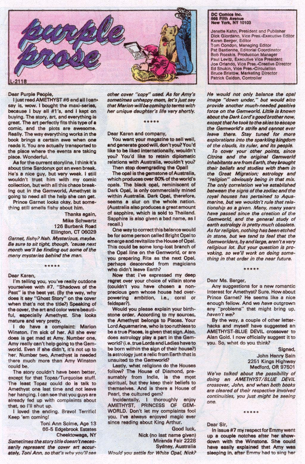 Read online Amethyst (1985) comic -  Issue #10 - 32