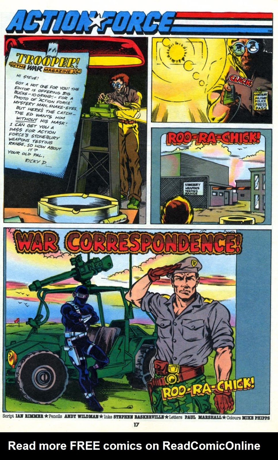 G.I. Joe European Missions issue 10 - Page 17