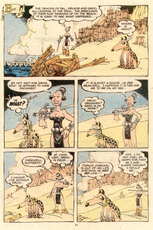 Read online Sergio Aragonés Groo the Wanderer comic -  Issue #53 - 24