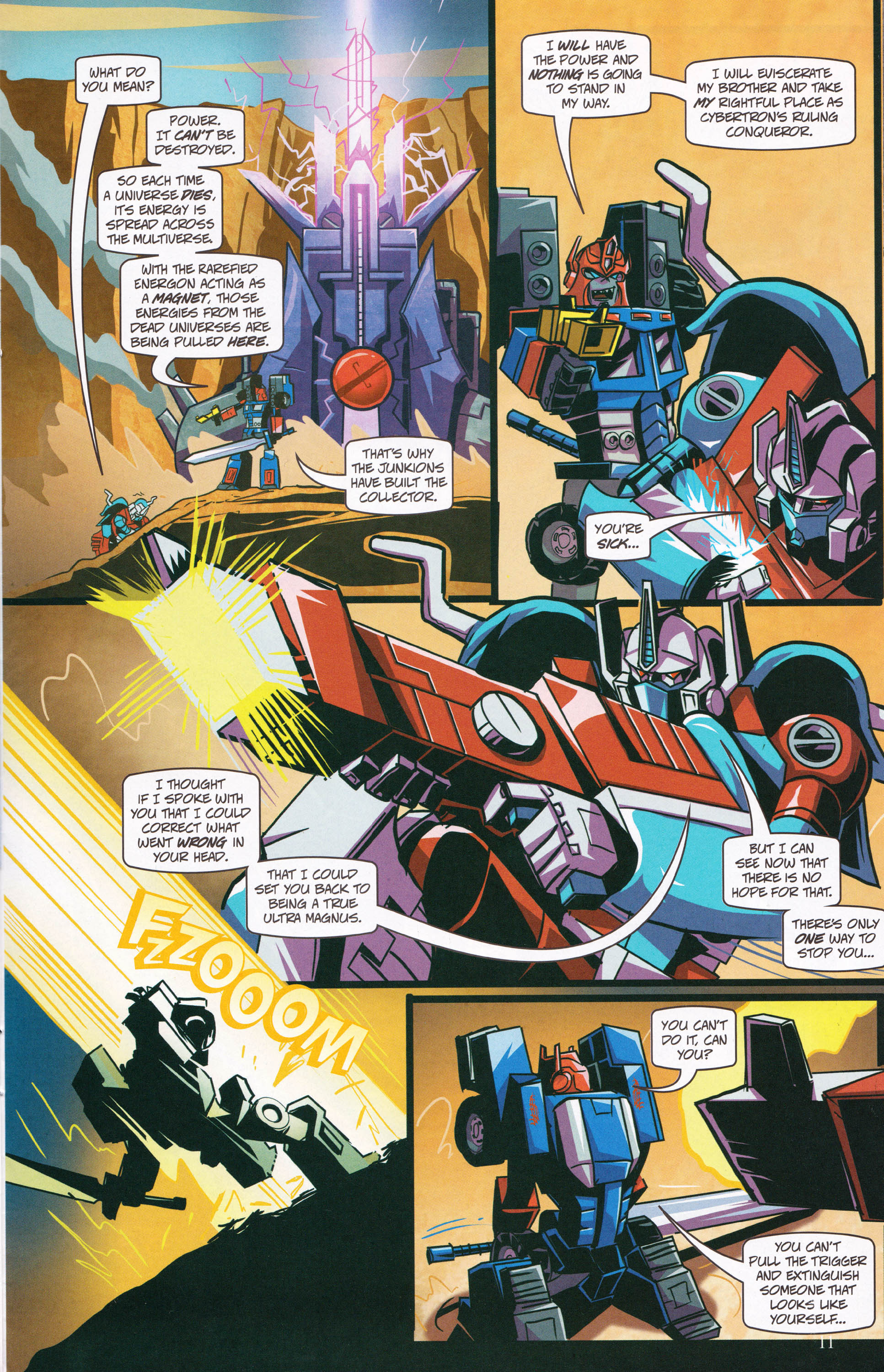 Read online Transformers: Collectors' Club comic -  Issue #62 - 11