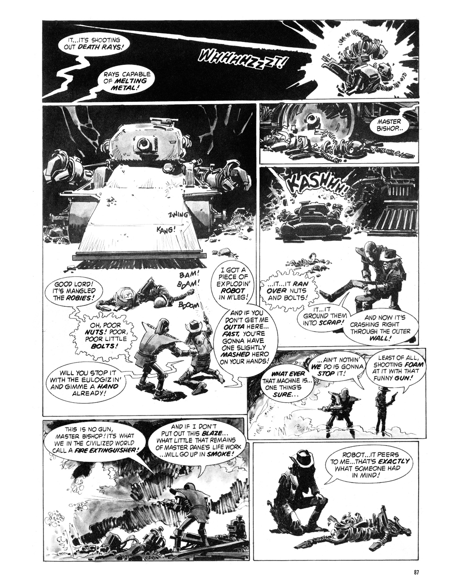 Read online Eerie Archives comic -  Issue # TPB 18 - 88
