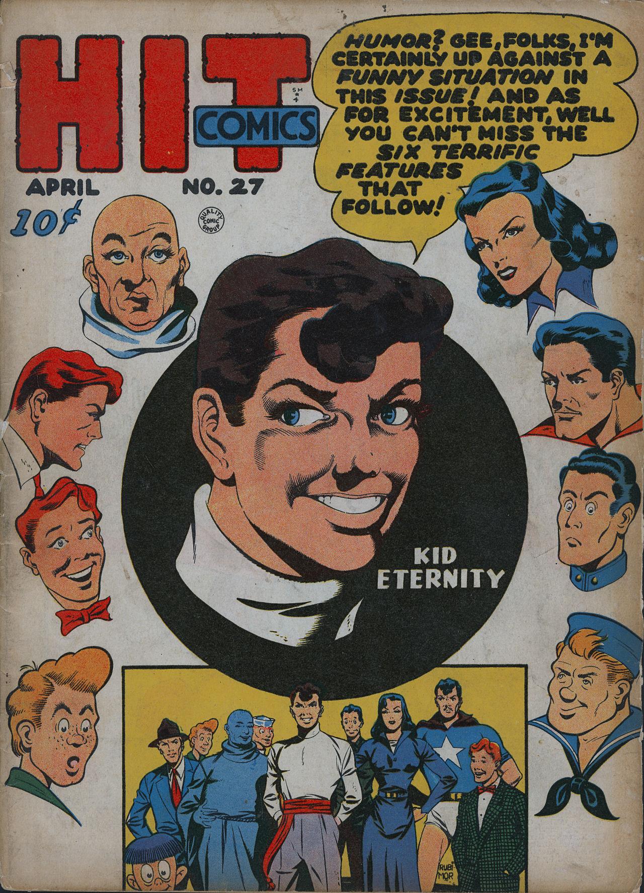 Read online Hit Comics comic -  Issue #27 - 1
