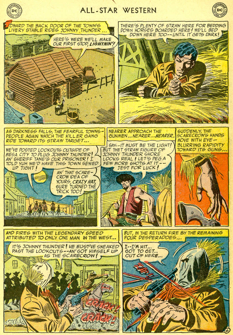 Read online All-Star Western (1951) comic -  Issue #75 - 31