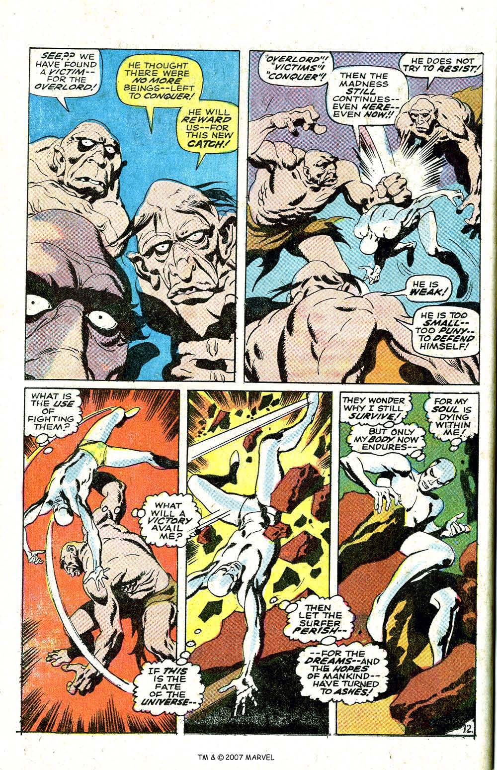 Read online Silver Surfer (1968) comic -  Issue #6 - 16