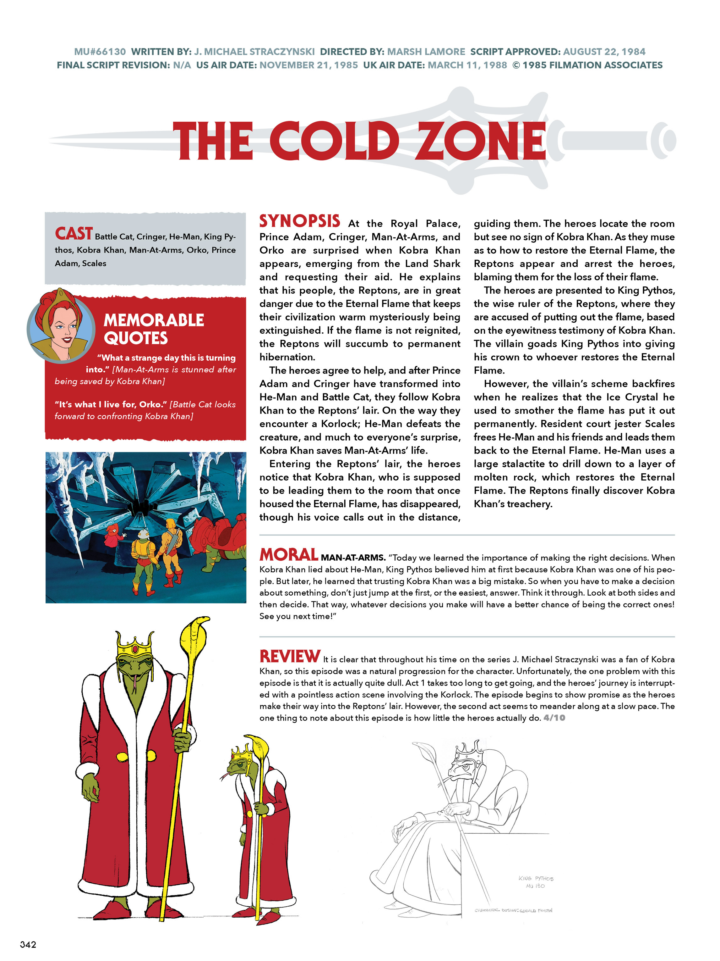 Read online He-Man and She-Ra: A Complete Guide to the Classic Animated Adventures comic -  Issue # TPB (Part 2) - 143