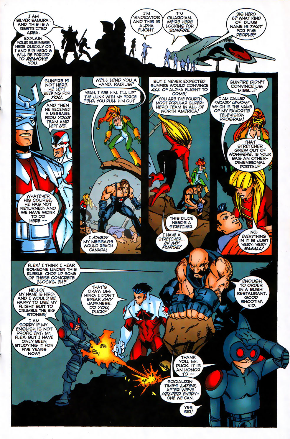 Read online Alpha Flight (1997) comic -  Issue #17 - 13