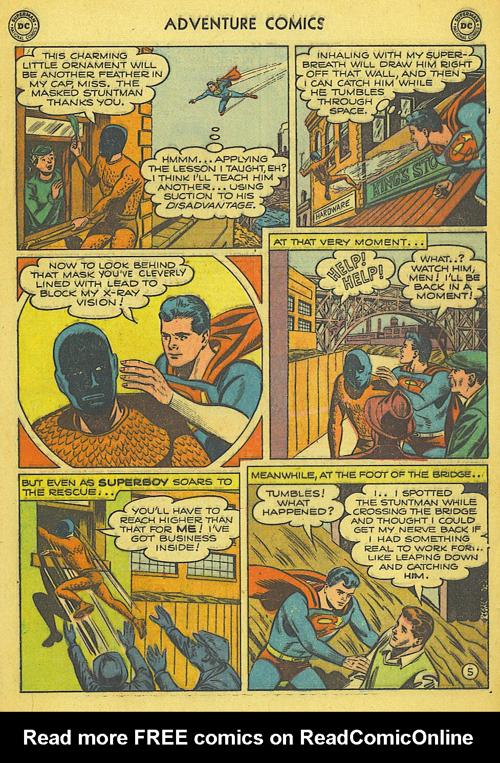 Read online Adventure Comics (1938) comic -  Issue #165 - 6