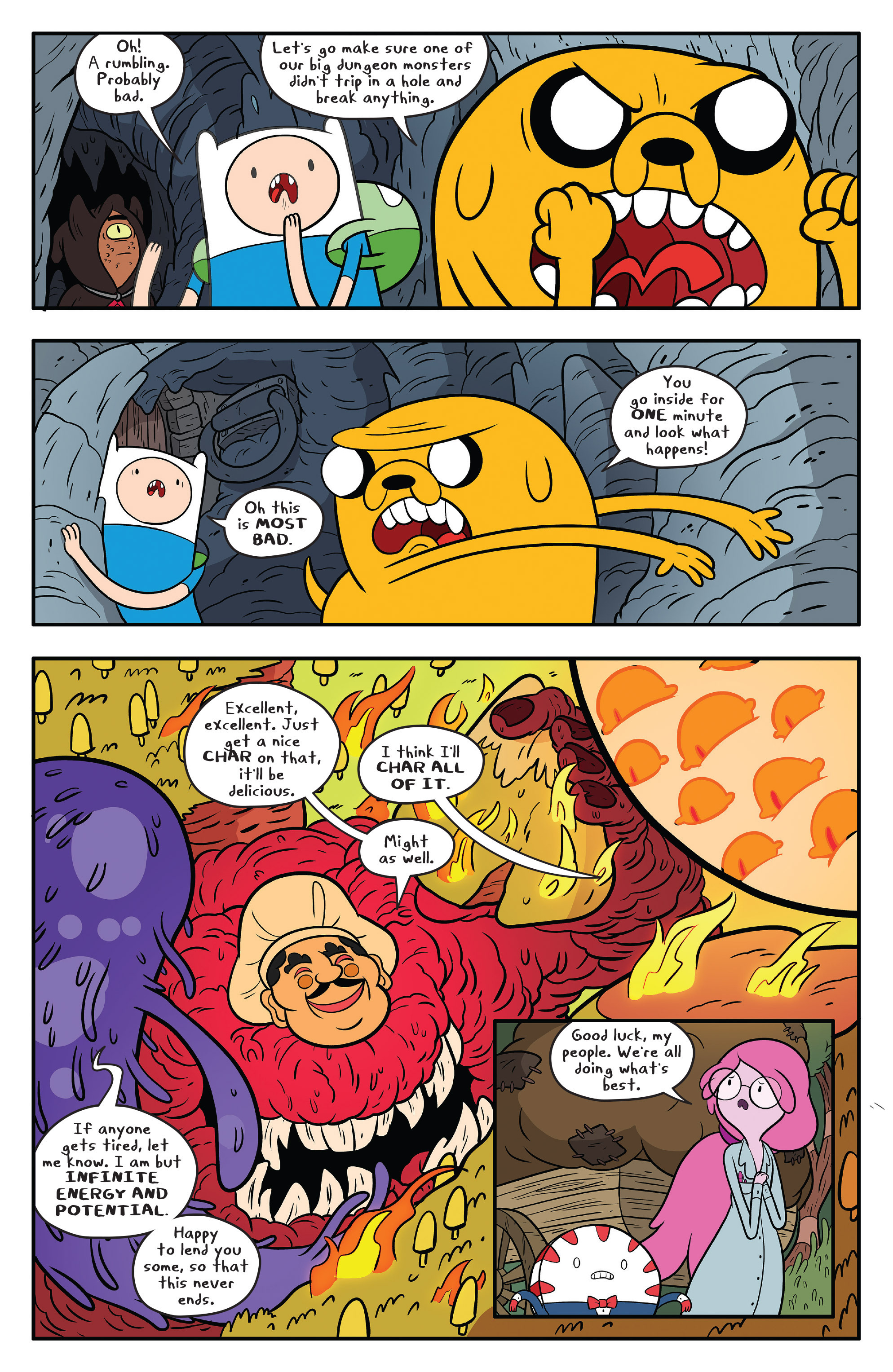 Read online Adventure Time comic -  Issue #59 - 17