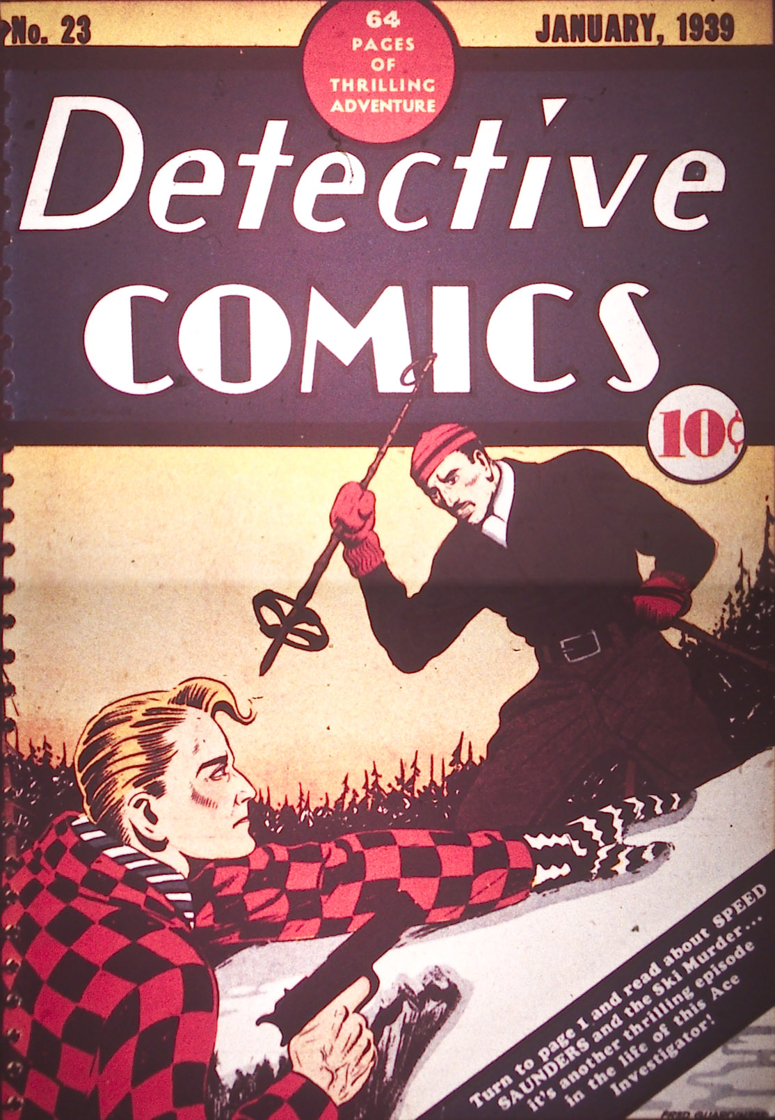 Detective Comics (1937) 23 Page 0