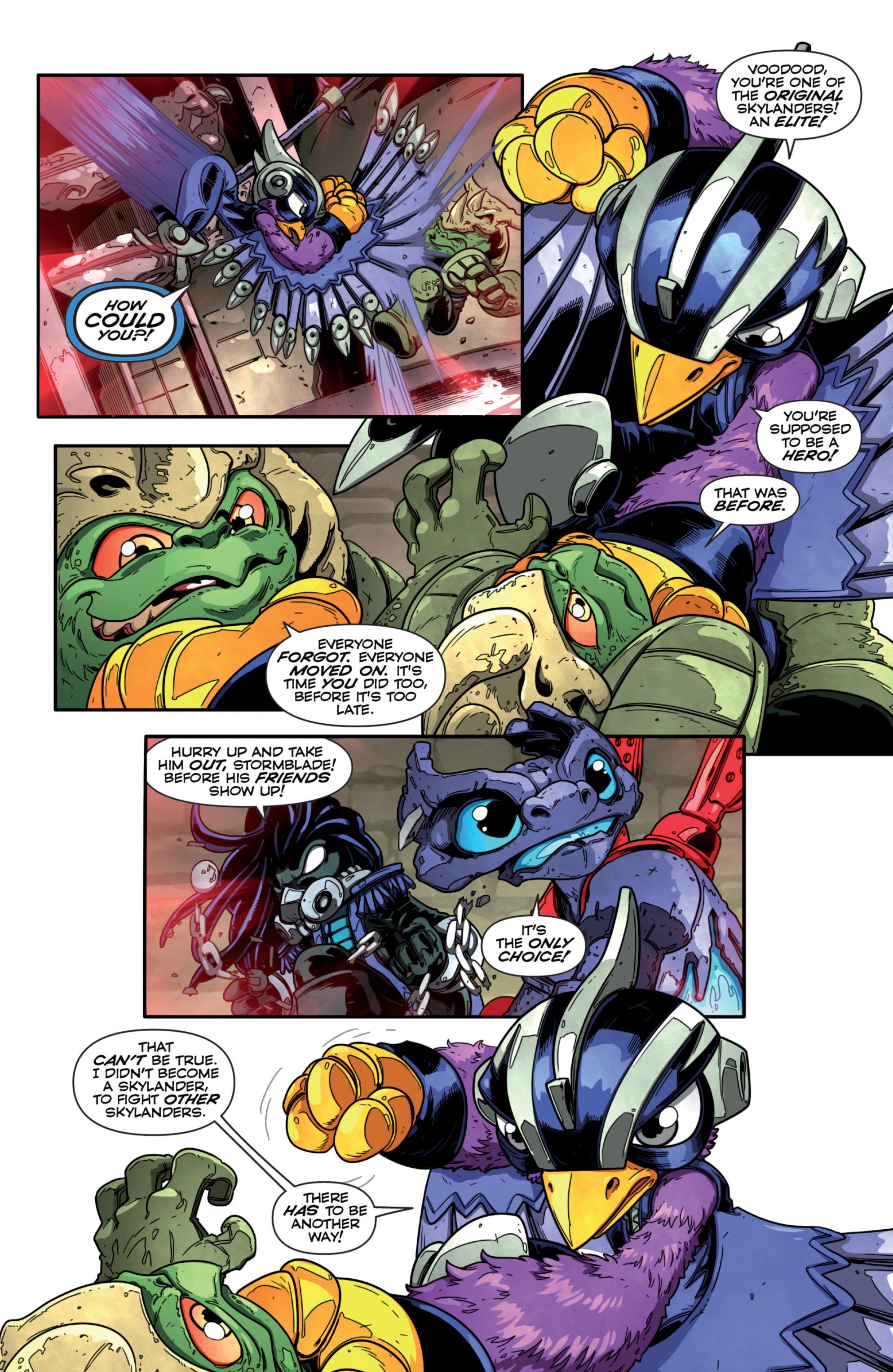 Read online Skylanders Superchargers comic -  Issue #2 - 16