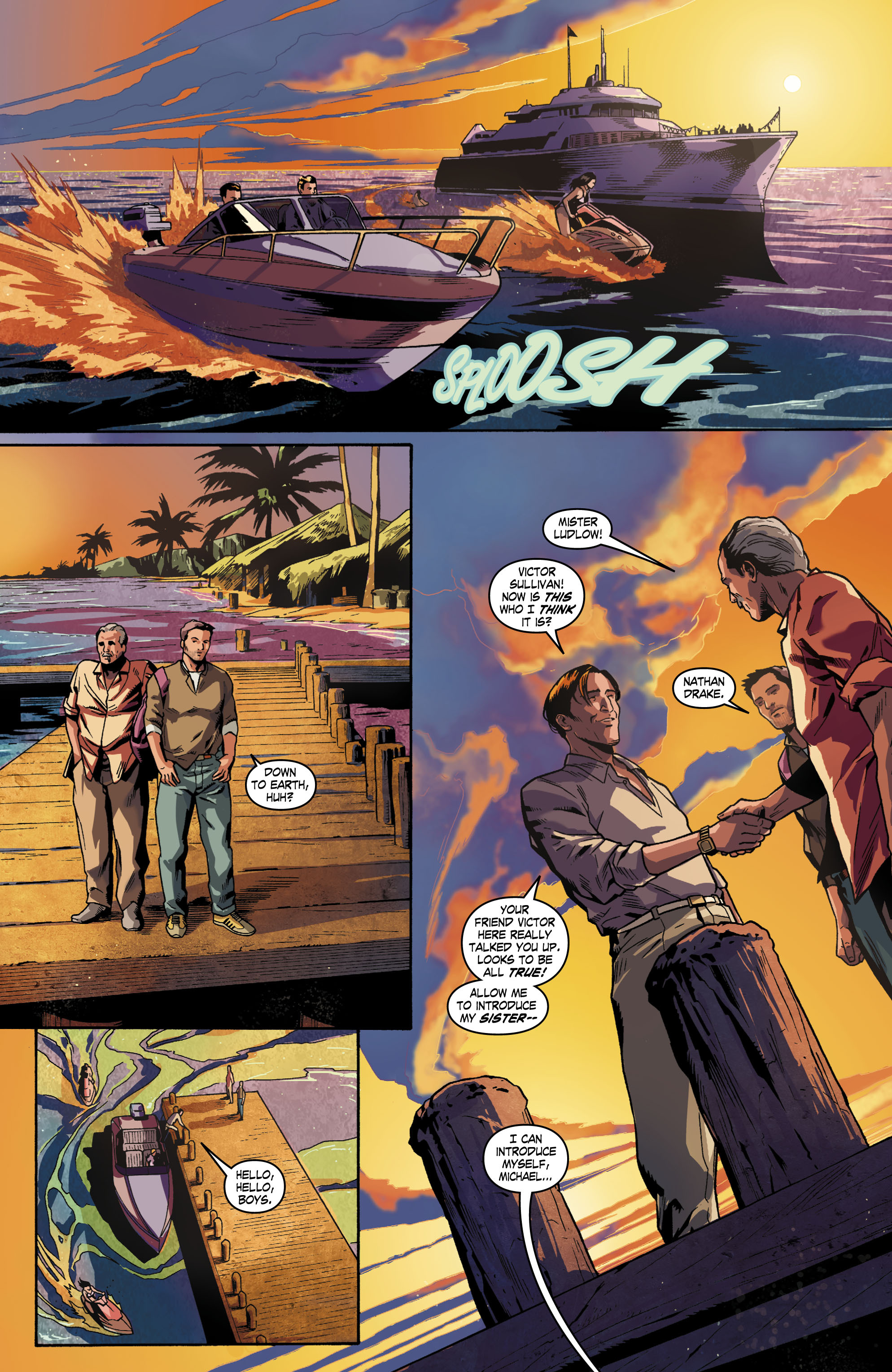 Read online Uncharted comic -  Issue #1 - 15