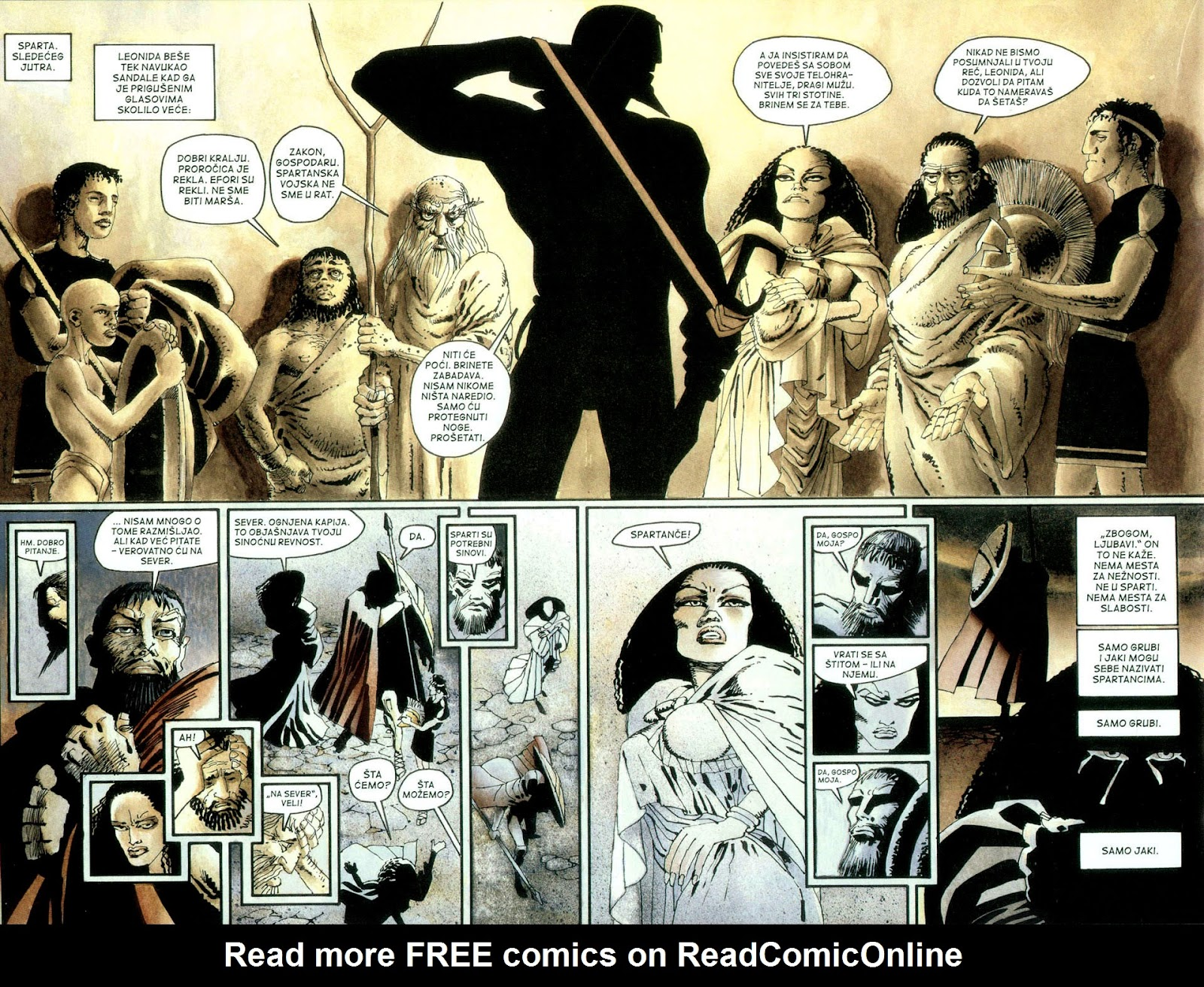 Read online 300 (2007) comic -  Issue # TPB - 27