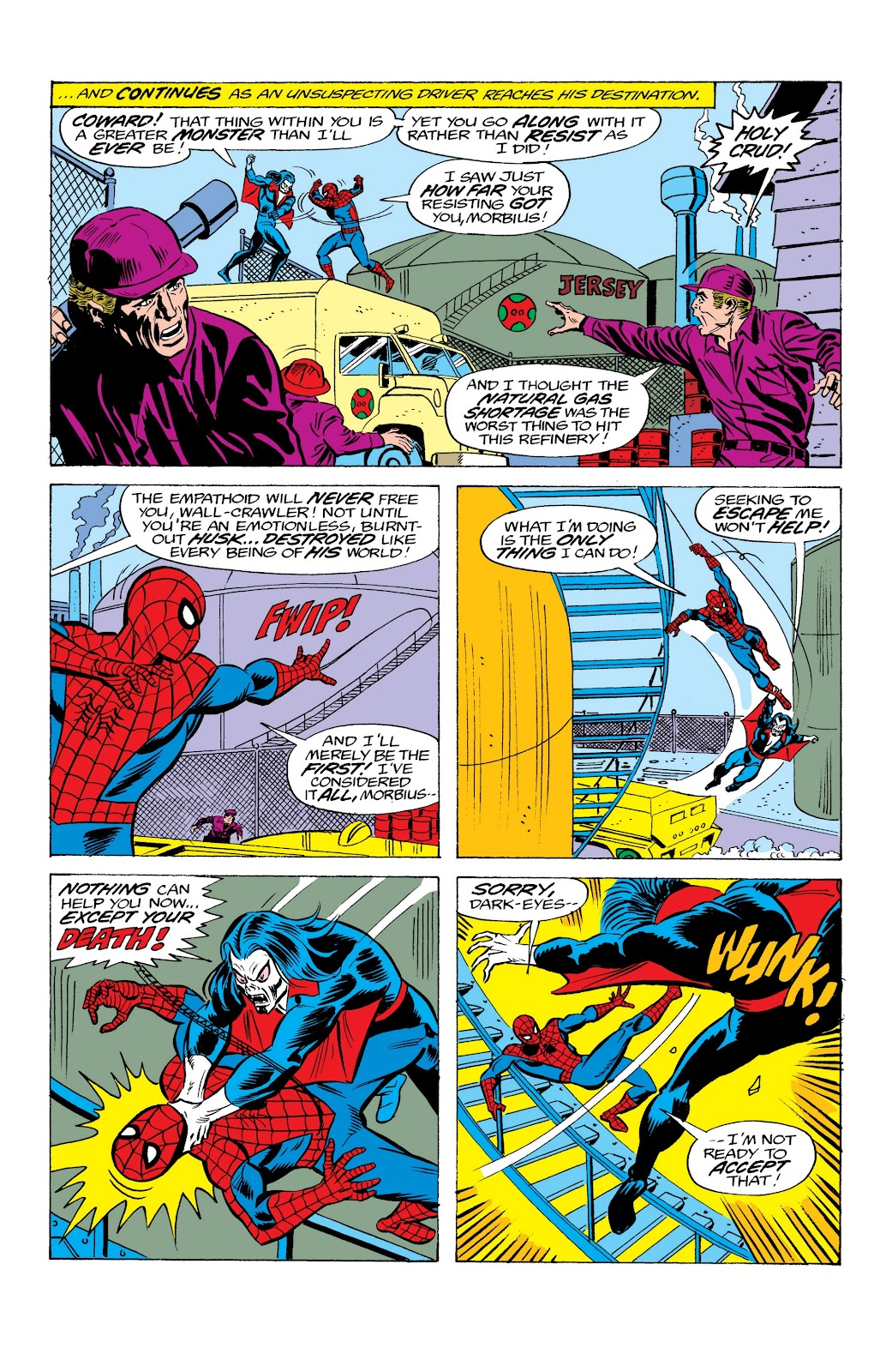 Read online Marvel Masterworks: The Spectacular Spider-Man comic -  Issue # TPB (Part 2) - 33