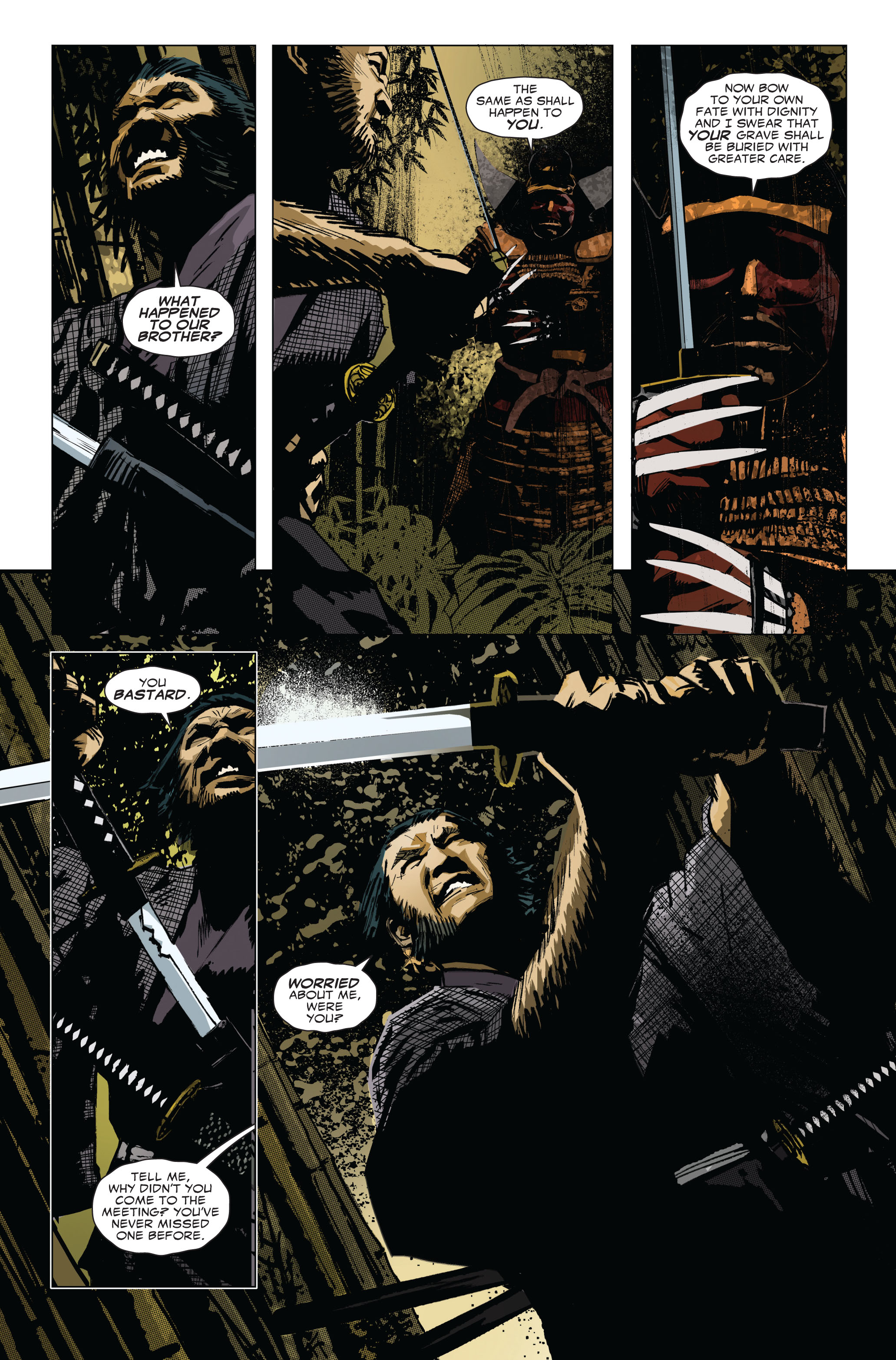 Read online 5 Ronin (2011) comic -  Issue #1 - 18