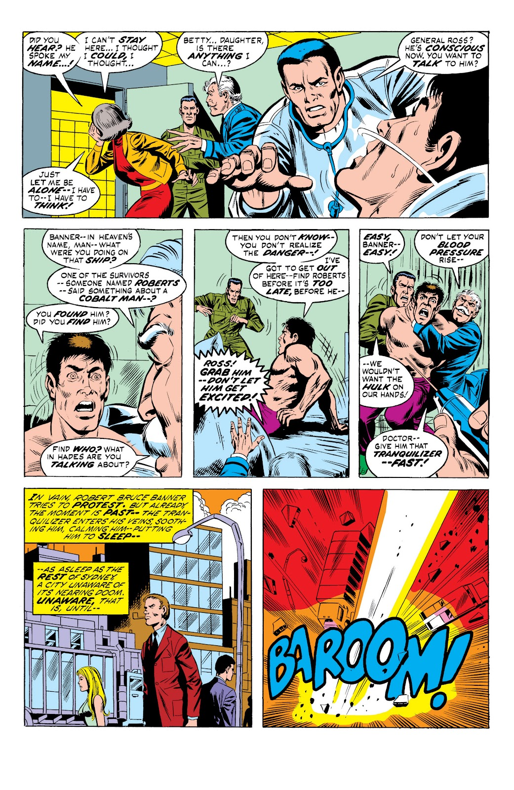 Read online Marvel Masterworks: The Incredible Hulk comic -  Issue # TPB 10 (Part 1) - 77