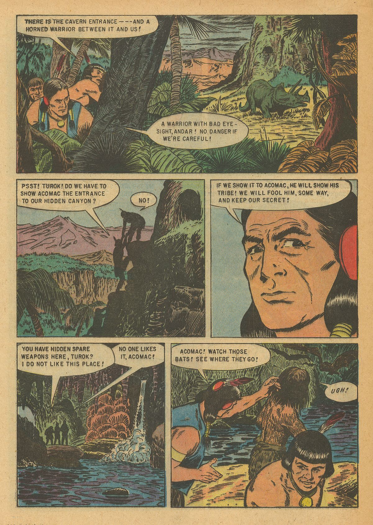 Read online Turok, Son of Stone comic -  Issue #6 - 20