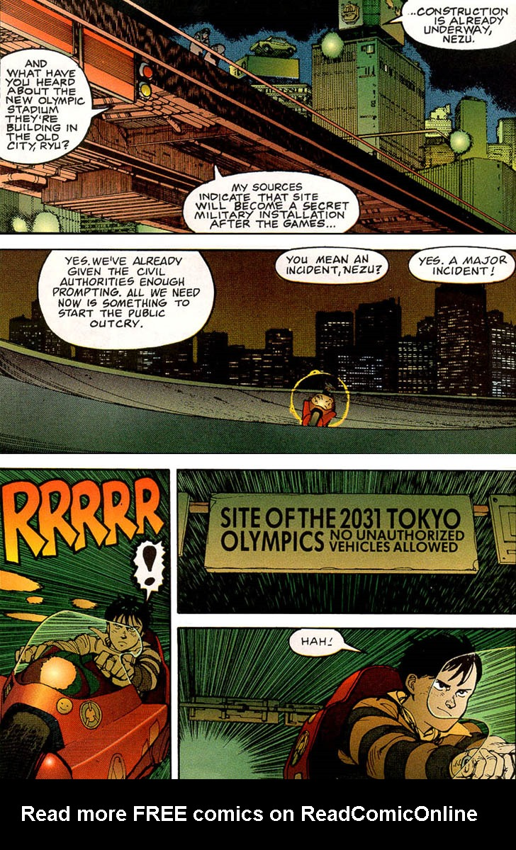 Read online Akira comic -  Issue #3 - 22