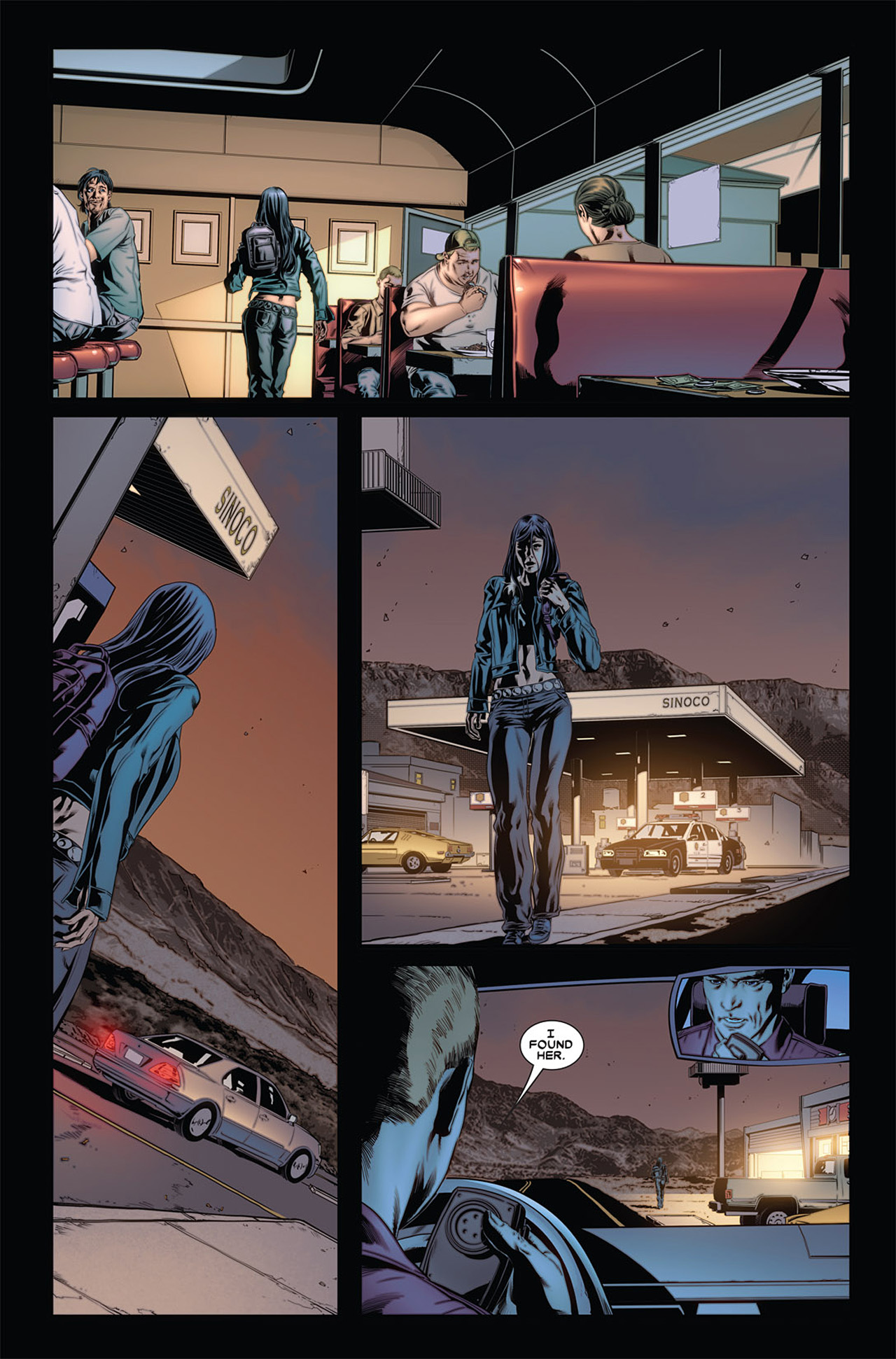 Read online X-23 (2010) comic -  Issue #4 - 9