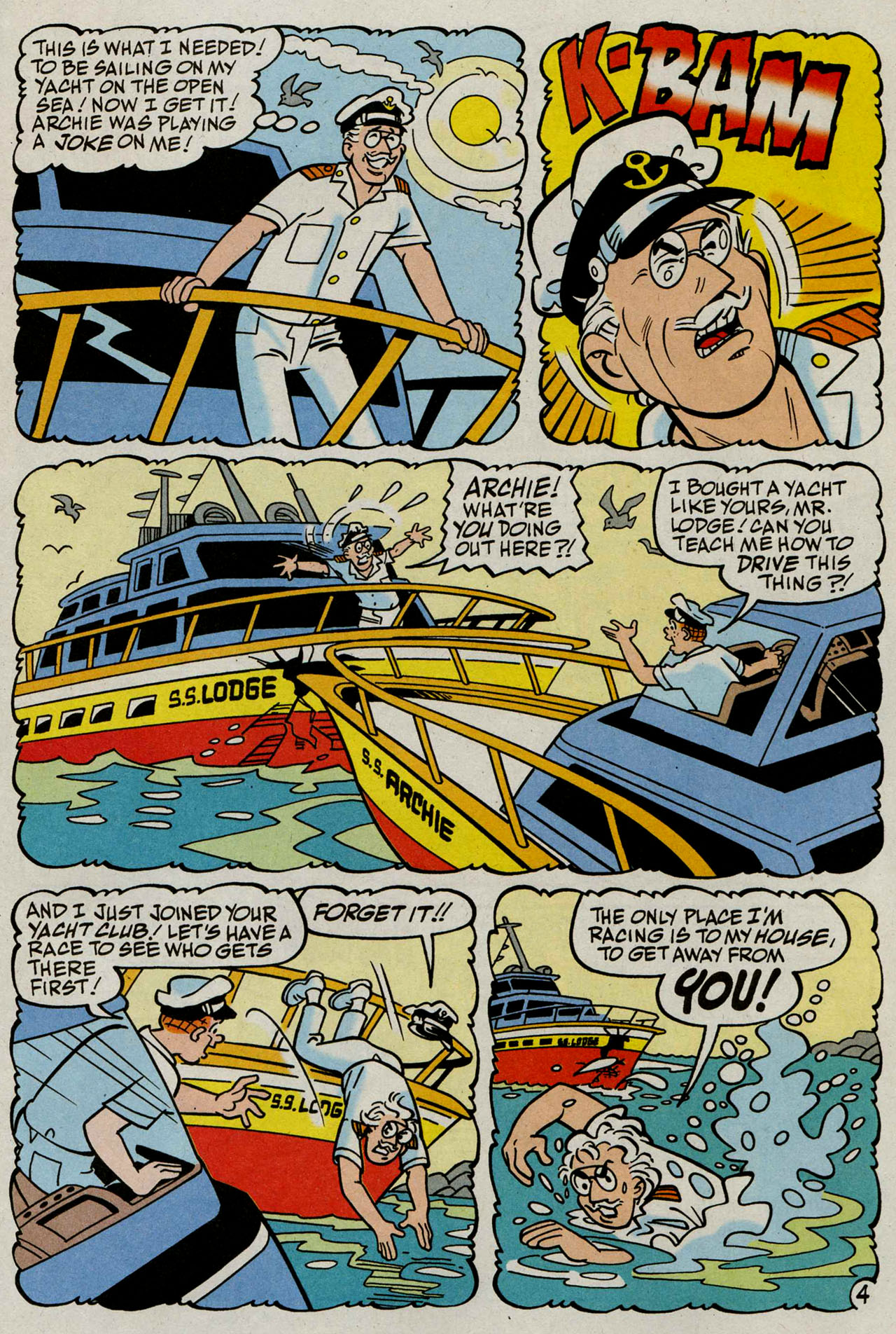 Read online Archie (1960) comic -  Issue #586 - 22