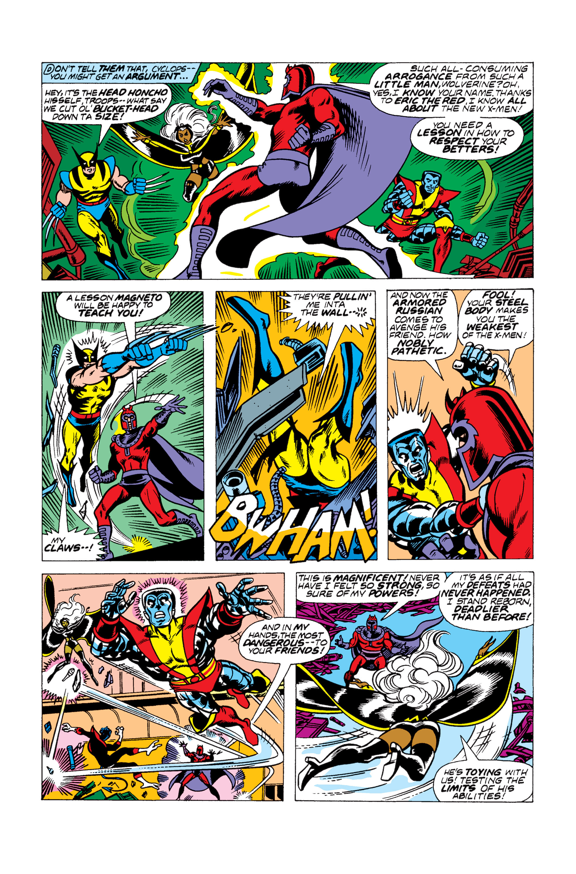 Read online Uncanny X-Men (1963) comic -  Issue #104 - 10