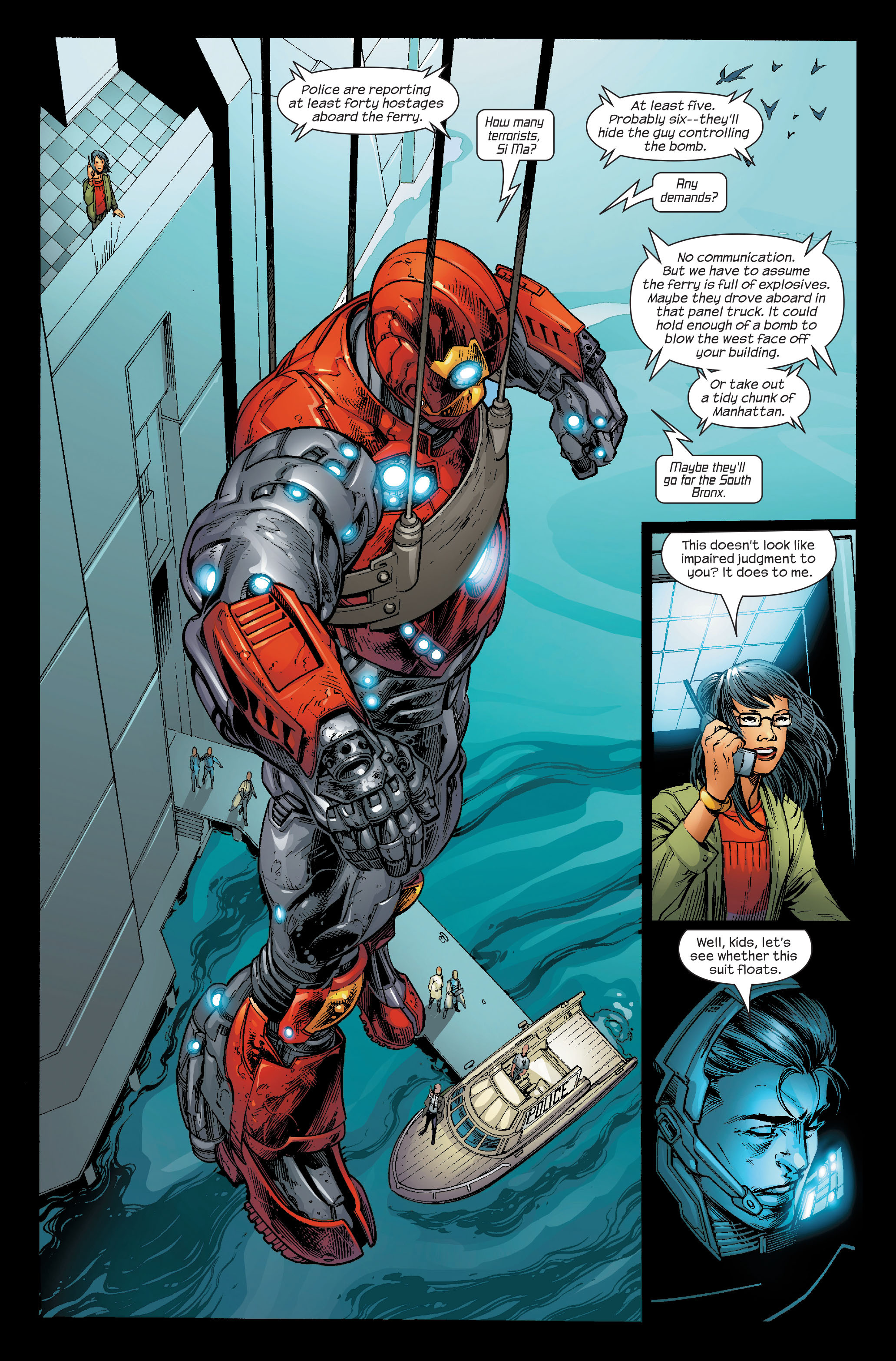 Read online Ultimate Iron Man (2005) comic -  Issue #5 - 18