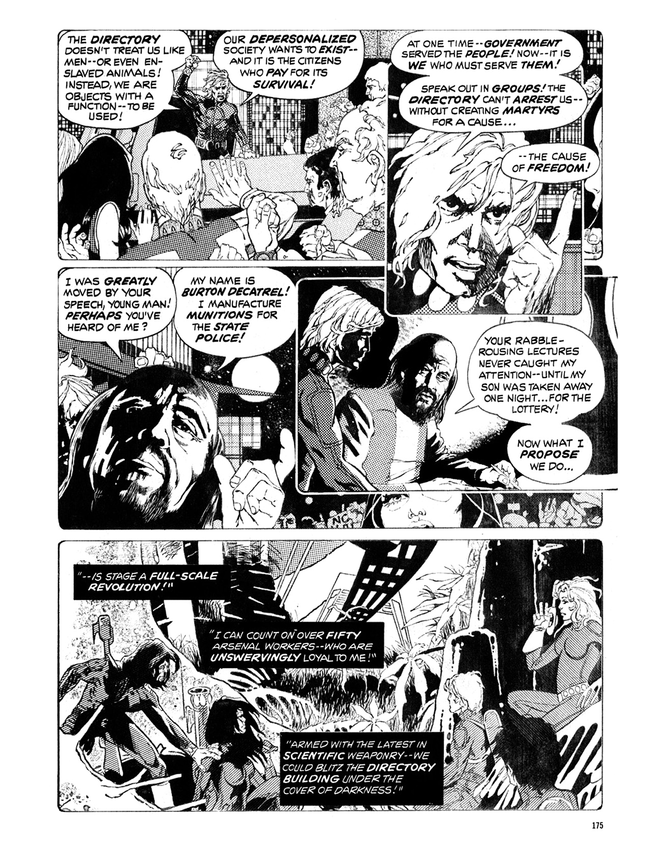 Read online Eerie Archives comic -  Issue # TPB 10 - 176
