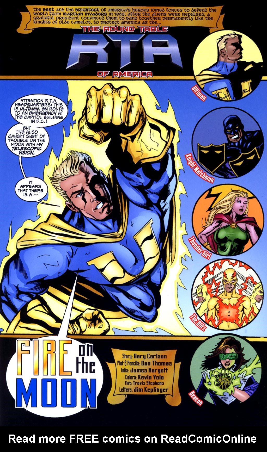 Read online Big Bang: Round Table of America comic -  Issue # Full - 3