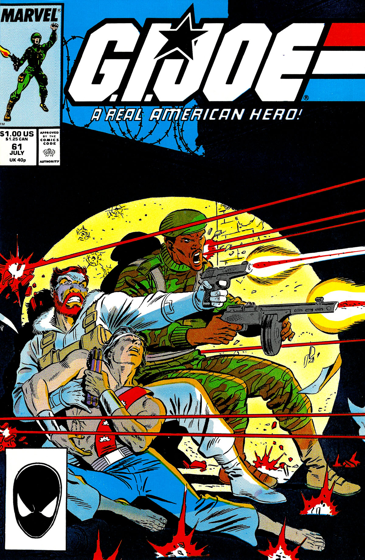 G.I. Joe: A Real American Hero 61 Page 1